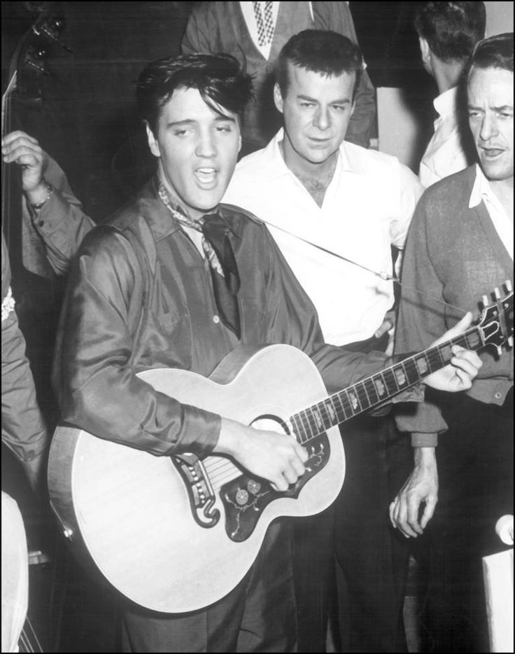 Elvis Presley in 'King Creole', 1958.