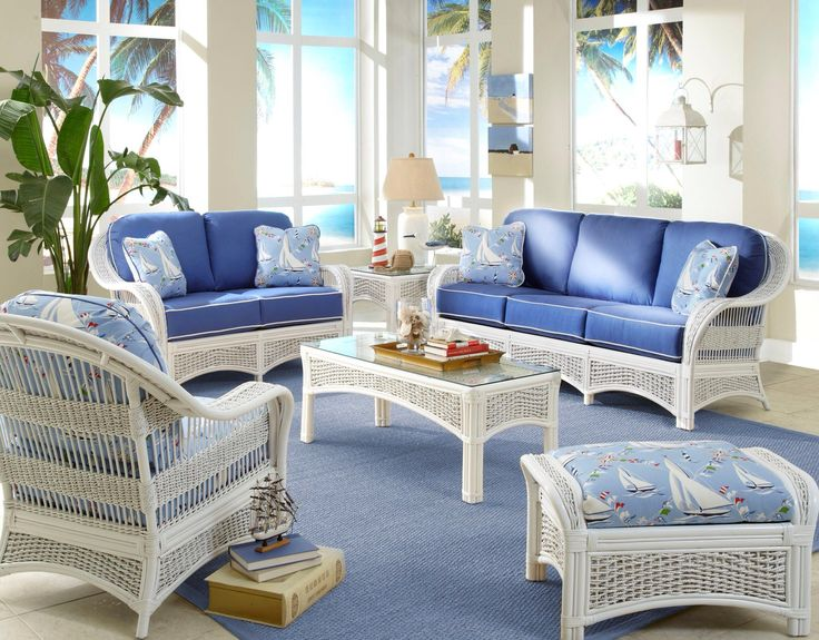 Bar Harbor Wicker Furniture Collection