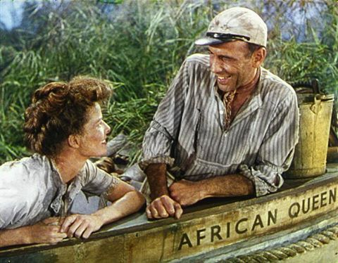 Humphrey Bogart and Kate Hepburn                                                                                                                                                                                 More