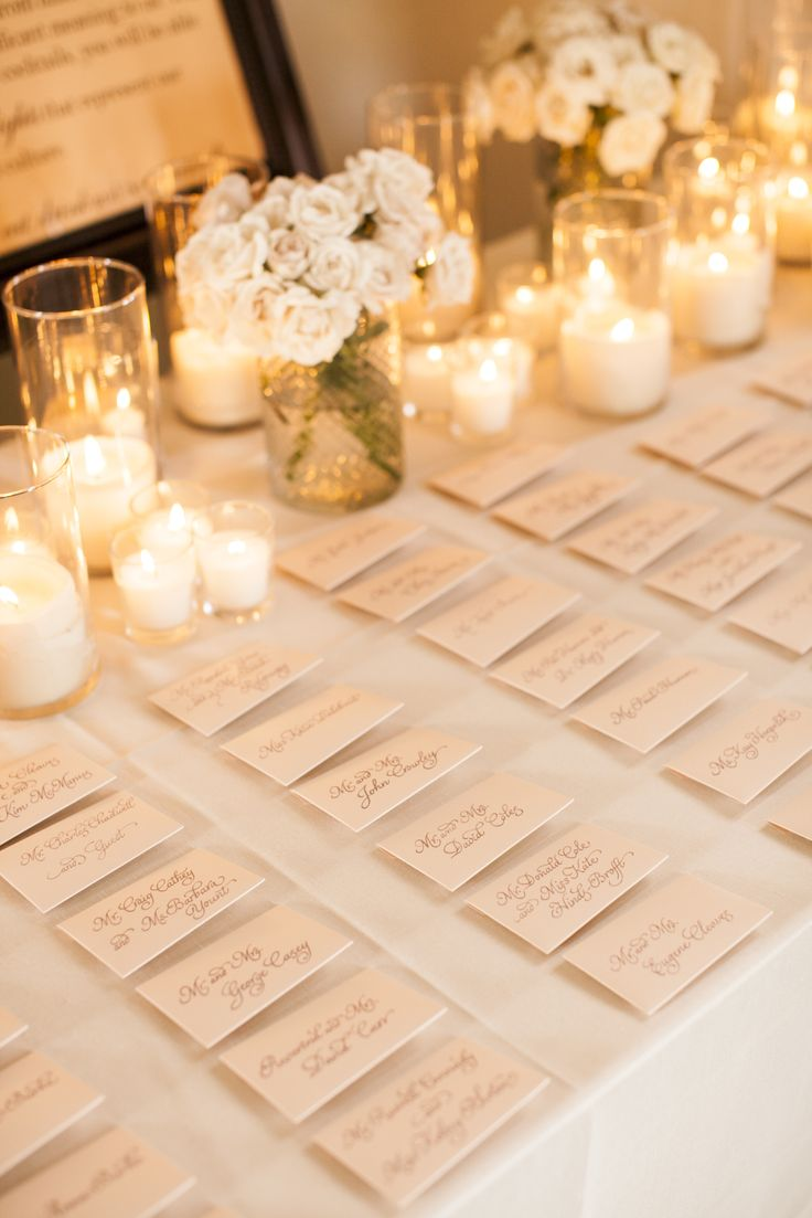 Table Decorations For Place Card Read More Http Www Stylemepretty