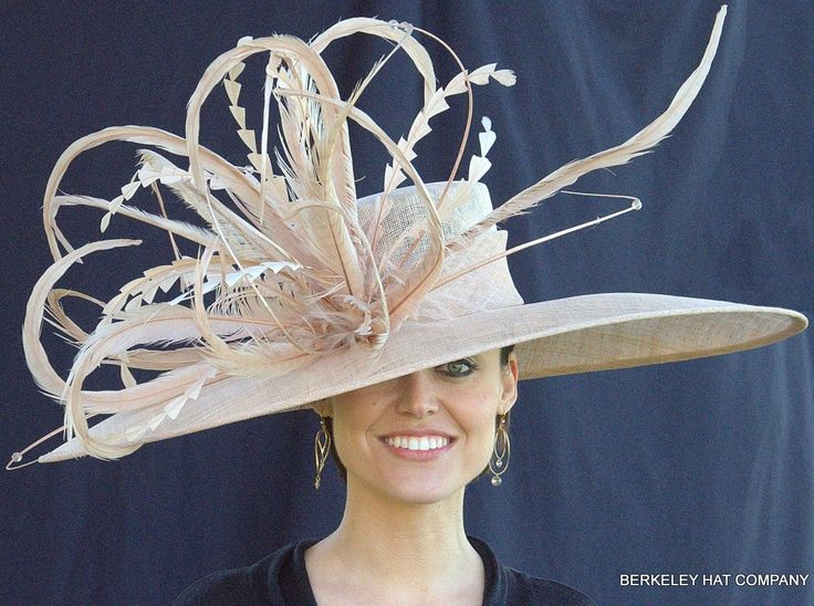 Kentucky Derby hat days | Winner's Circle Feathered Hat for the Kentucky Derby
