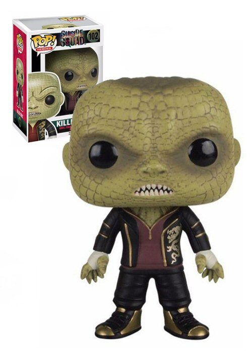 SUICDE SQUAD is going to be amazing and i can not wait to see Killer Croc in action so it will come as no suprise that i'm Sooo happy Funko are releasing a KILLER CROC pop! vinyl which can now be pre-ordered at ROBOT MOON + if you buy 2 or more pop! vinyls you get 10% off the total !! http://robotmoon.co.uk/?s=suicide&post_type=product