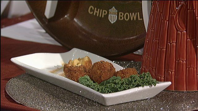 Eric Rogers, chef and owner of Nevaeh Cuisine and Catering, shared a recipe that appeals not only to mac & cheese lovers, but to anyone looking for a crowd pleasing appetizer. FRIED MACARONI &a…