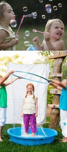 Dicas de brincadeiras com as crianças para o verão, no Mil dicas de mãe