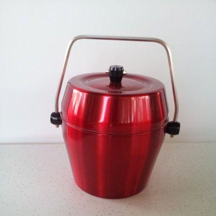 Vintage Anodised Ice Bucket
