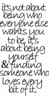 quotes+about+being+yourself | Nice Being Yourself Quote for Fb Share – Its not About Being Who ...