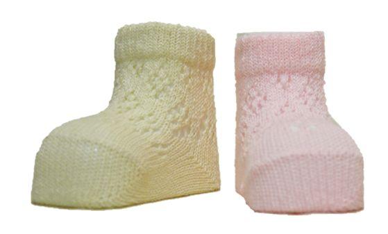Носочки для малышей из хлопка