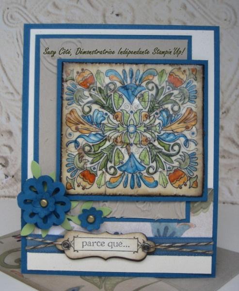 su: Fine Flourish, Scrapbook Cards, Su Cards, Scrapbooking Cards, Creative Cards, Su Fine, Crafts Inspiration, Photo, Paper Crafts