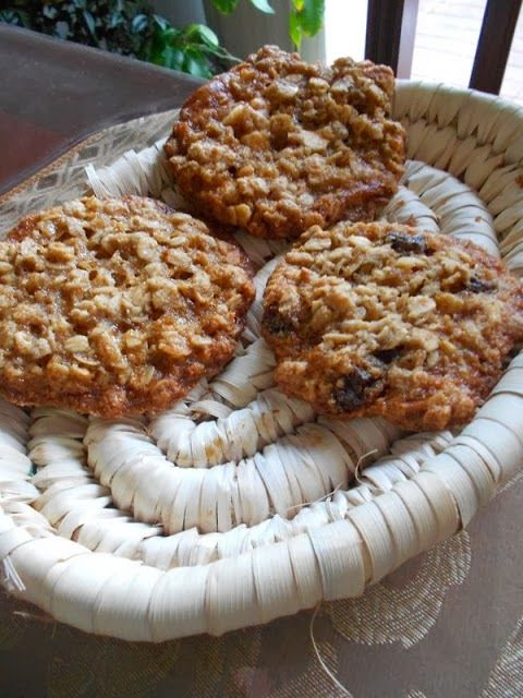 Culinary Couture: Flying Saucer Oatmeal Cookies