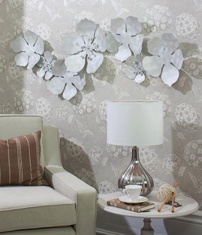 Metal Flower Wall Art 35 best decor images on pinterest | metal walls, wall flowers and home