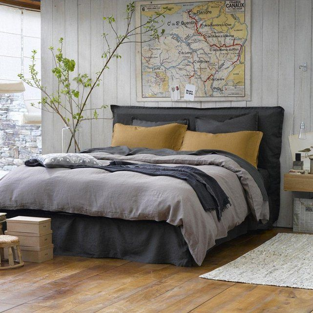 les 53 meilleures images du tableau t te de lit sur pinterest lits id es d co pour la chambre. Black Bedroom Furniture Sets. Home Design Ideas