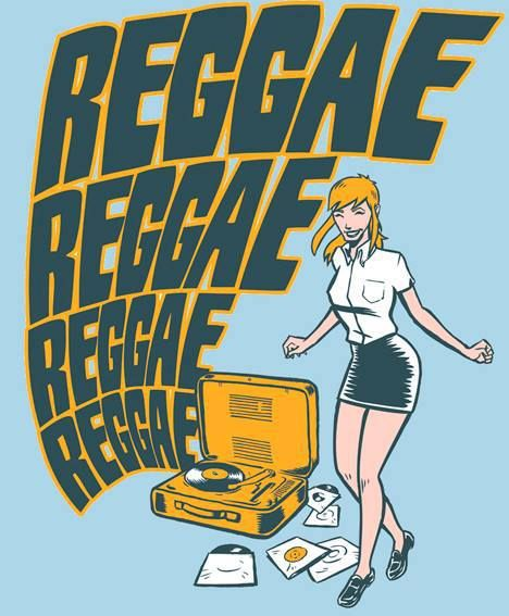 Skinhead Girl dancing to the #reggae  Art by Ramon :https://www.facebook.com/ramon.gironesdiaz