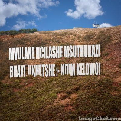 ImageChef - Mountain Sign