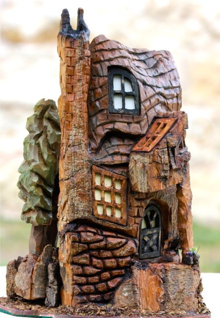 1000 Images About Bark Carvings On Pinterest Fairy