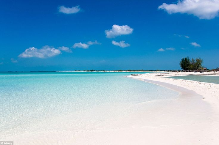 Paradise Beach, known locally as Playa Paraiso, on Cayo Largo del Sur, in Cuba was also vo...