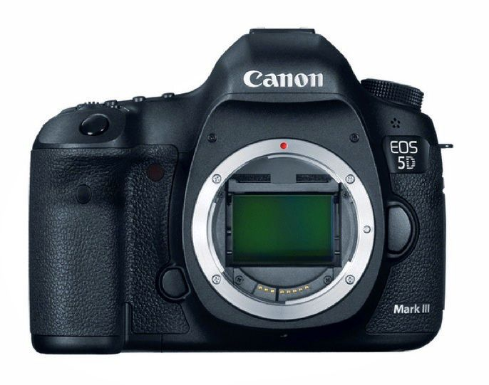 Newest body of Canon: the EOS 5D Mark III