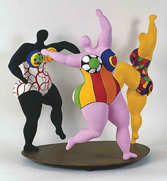 Les trois grâces de Niki de Saint Phalle (The Three Graces)