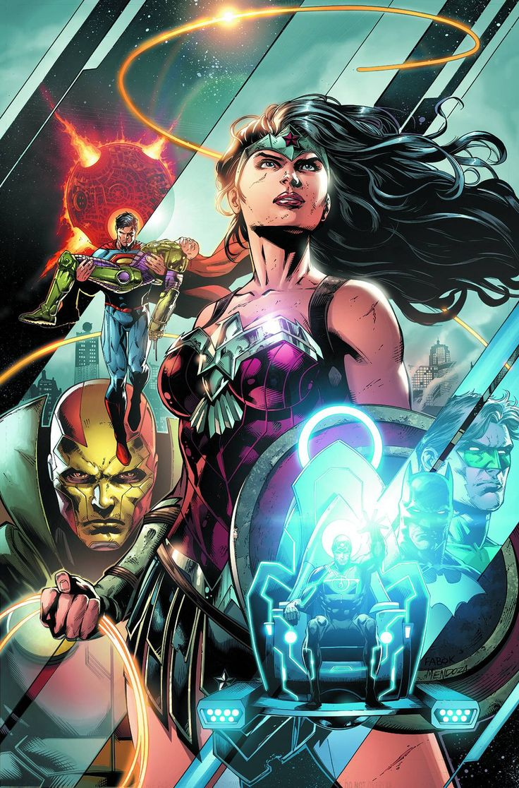 """The epic """"Darkseid War"""" event storyline continues with the critically acclaimed team of Geoff Johns and Jason Fabok! As Darkseid and the Anti-Monitor maneuver toward inevitable war, Wonder Woman leads"""
