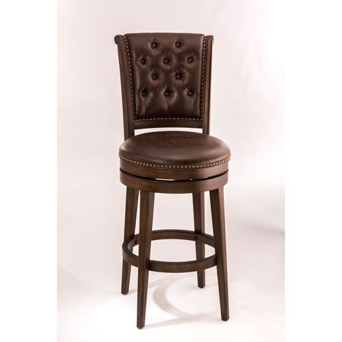 chiswick cherry swivel bar stool bar height 28 to 36 inch bar stools kitchen - 36 Inch Bar Stools