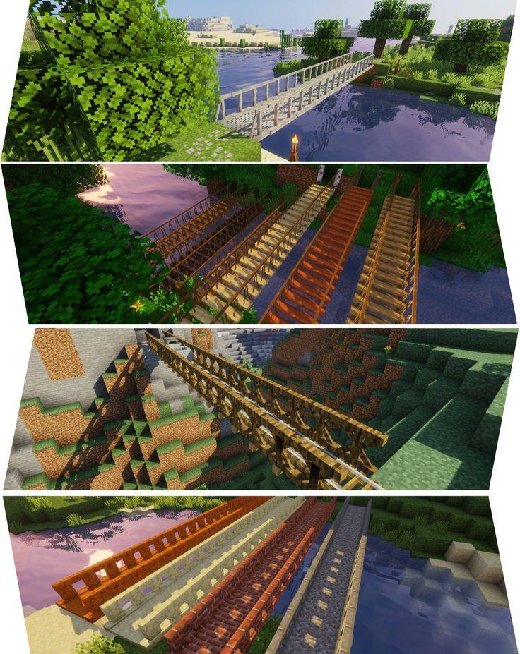 Macaws bridges mods minecraft building