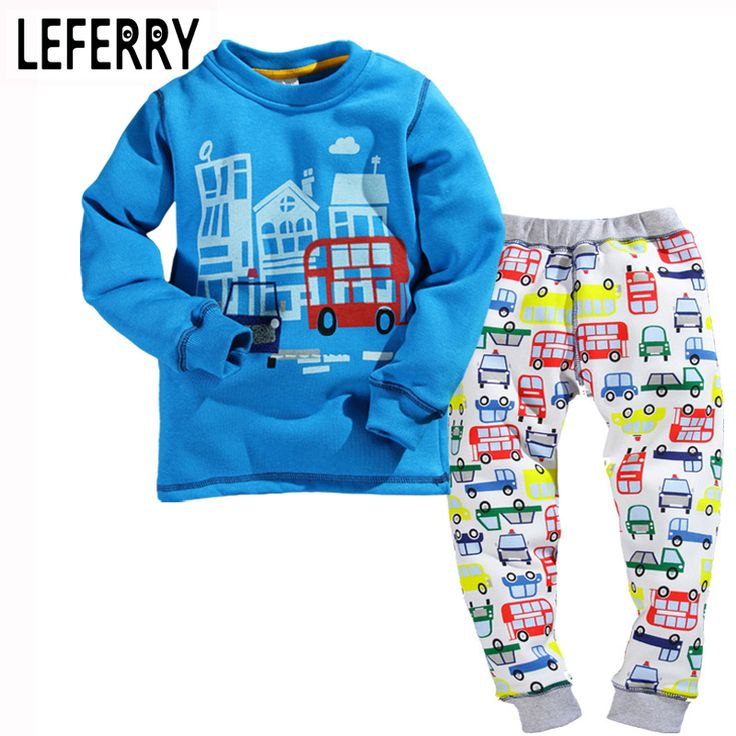 2017 New Velvet Childrens Clothing Croc Kids Clothes Boys Sets Toddler Boy Clothing Outfits Baby boy clothing set Spring Winter