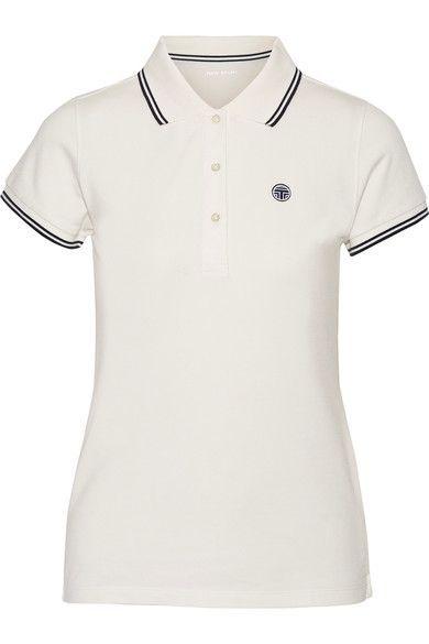 Tory Sport - Coolmax® Cotton-blend Piqué Polo Shirt - White - x small