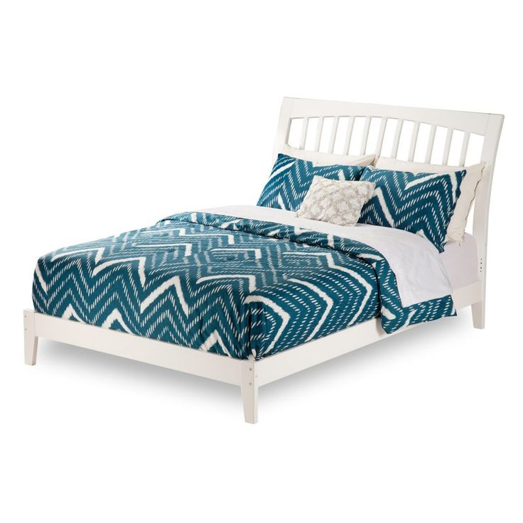 Atlantic Furniture Orleans Traditional Platform Bed, Size: Twin XL - AR9211032