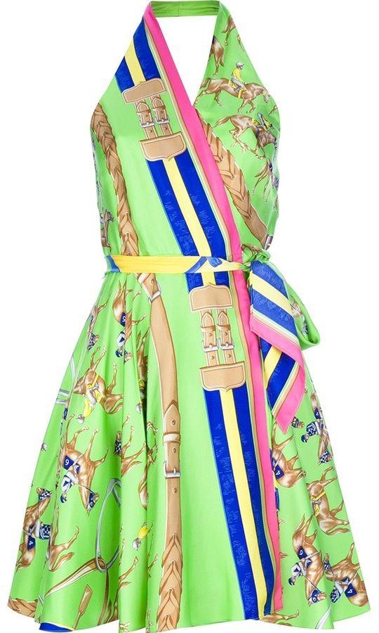 Ralph Lauren halterneck dress