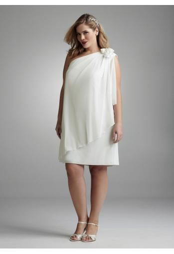 Robe de cocktail grande taille