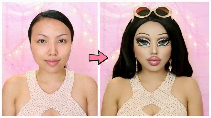BRATZ DOLL Makeup Transformation!!! - YouTube