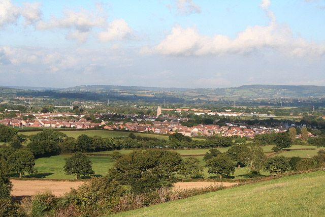 View of Cullompton, Devon