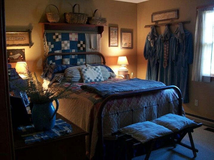 1000+ Ideas About Primitive Country Bedrooms On Pinterest