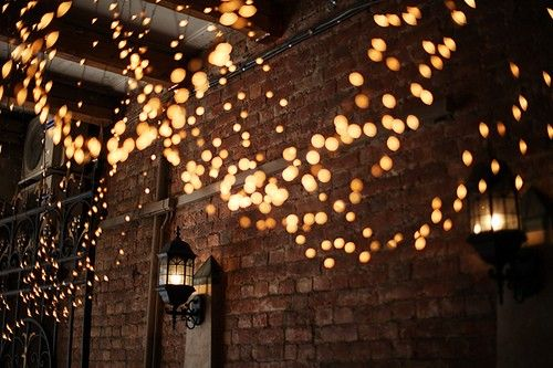 Twinkle lights make everything lovely Outdoor spaces Pinterest