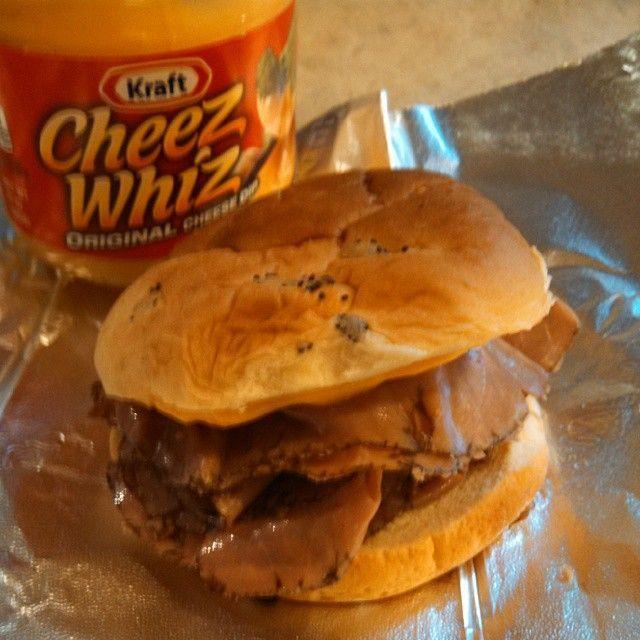 DIY Roast Beef &Cheddar Melt - Like Arby's!