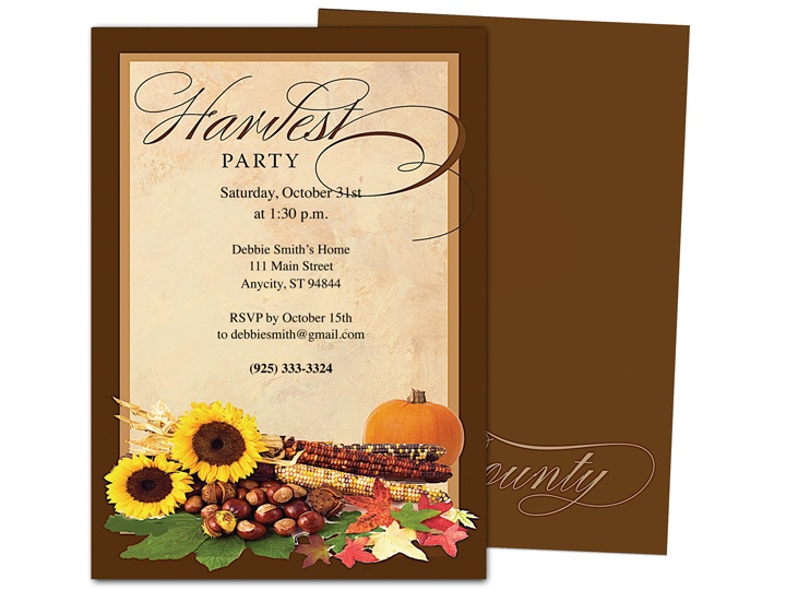 32 best images about Halloween Party Invitations DIY Printable – Fall Party Invitation Template