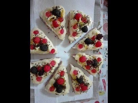 Making and cutting forrest soap cake-Tort de sapun natural