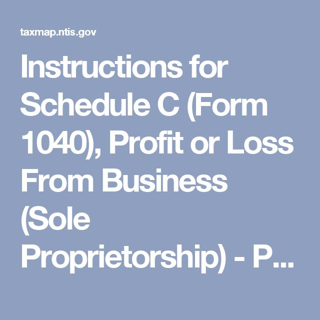 Instructions for Schedule C (Form 1040), Profit or Loss From Business (Sole Proprietorship) - Principal Business or Professional Activity Codes