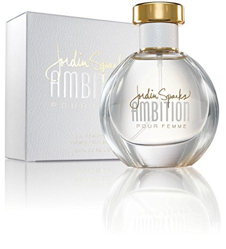 Jordin Sparks Ambition Perfume for Women, 2.2 Ounce. SENSUAL & SOPHISTICATED: The intriguing fragrance from American Idol winner, Jordin Sparks, is sophisticated and sensual, modern yet classic, unique yet broadly appealing. CITRUS AROMATIC FRAGRANCE: The fragrance opens with notes of White Tea, Bitter Orange and Sparkling Lemon Zest, followed with a heart of Mint Leaf, Sea Moss, Fresh Cassis, Wild Raspberry and Precious Woods. The base notes are composed of Tahitian Vanilla, Resinous…