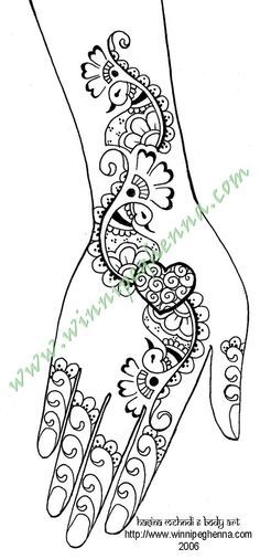 Image detail for -Here are some fun free henna patterns of different levels of ...