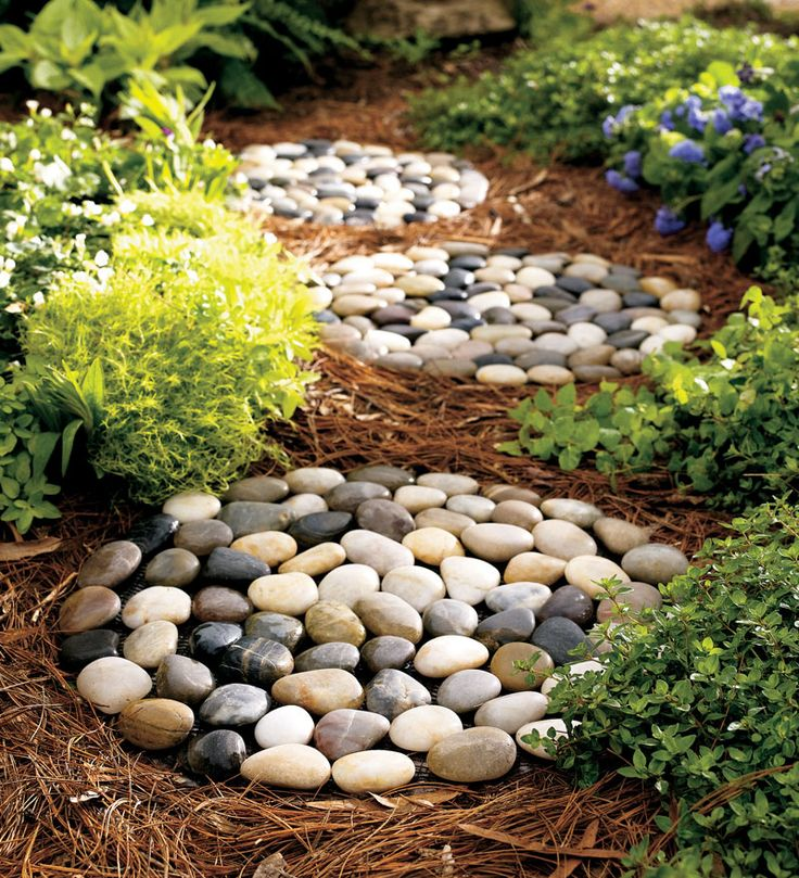 WindWeather River Rock Stepping Stones Set Of 3 Best Selling Garden Art From Wind Weather On Catalog Spree My Personal Digital Mall
