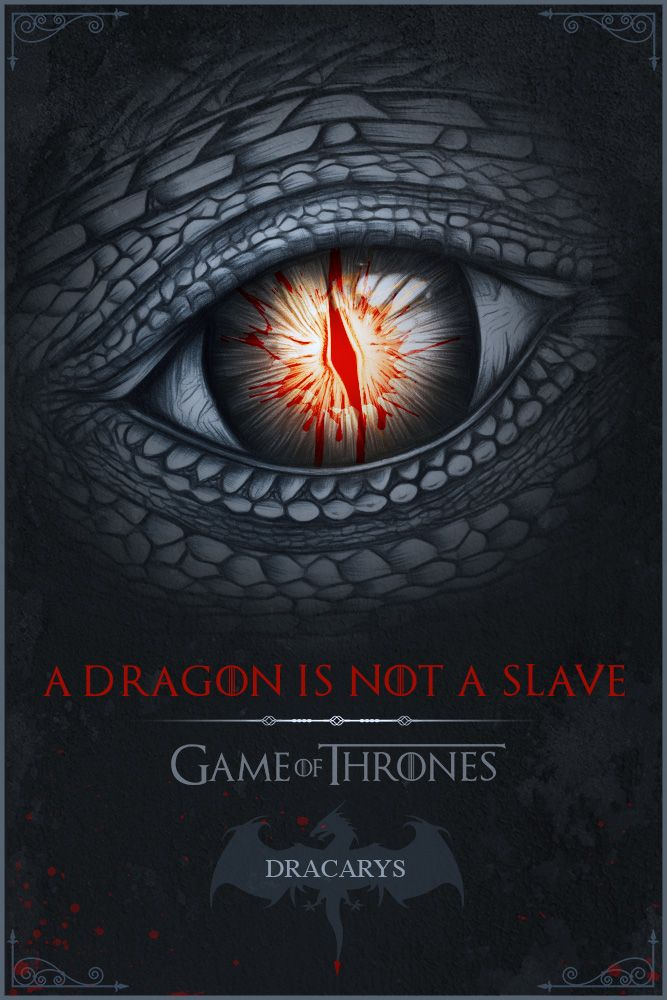 """a dragon is not a slave"" by o'lee graphiste"