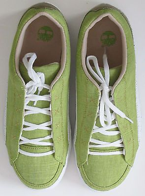 Timberland Fashion Sneakers Kiwi Green Womens Shoes 7 M New