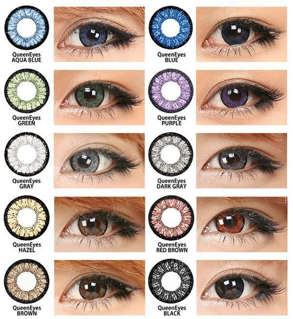Best Contacts Color Blue Light Brown Eyes