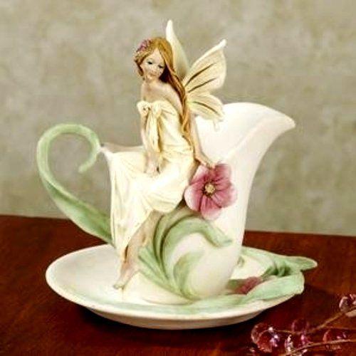 Rosebud Fairy Teacup Accent