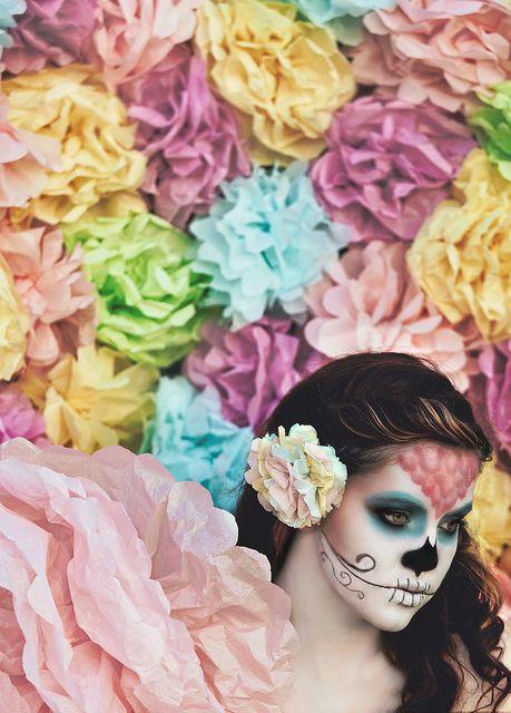 Sugar Skulls, Paper Flowers; Chasing Light, The Golden Hour, via Flickr.  Brandon Christopher Warren