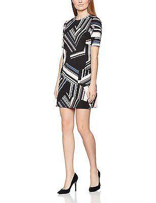 18, Multicoloured (Multi), Wallis Women's Colourblock Dress NEW