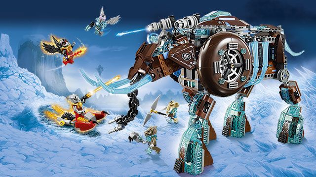 Theodore would like some Lego Chima sets.  He is especially interested in this one, but does not have any others yet. Lego Chima Maula's Ice Mammoth Stomper (Birthday Wish List 2014)