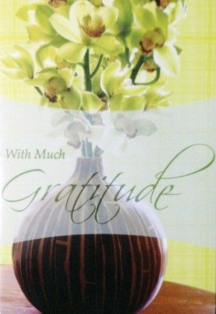 """THANKS – Received this card of thanks from the widow of director Gil Portes, Telly, and sons Carlo and Justin. The Portes family is based in New York, where Telly is a math professor at Monroe College and Carlo and Justin work in investment firms. The cards reads:  """"It was a precious gift to..."""