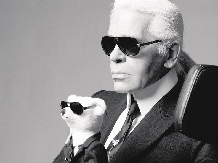 Karl Lagerfeld    The head designer of Chanel is known for sporting his signature glasses, his love of his cat, Choupette, and that comment about Adele — after which the world hated him, and for which he apologized by sending her Chanel bags. But earlier this week, Lagerfeld might just have redeemed himself by closing a show with two Chanel brides,backing the French gay marriage law.