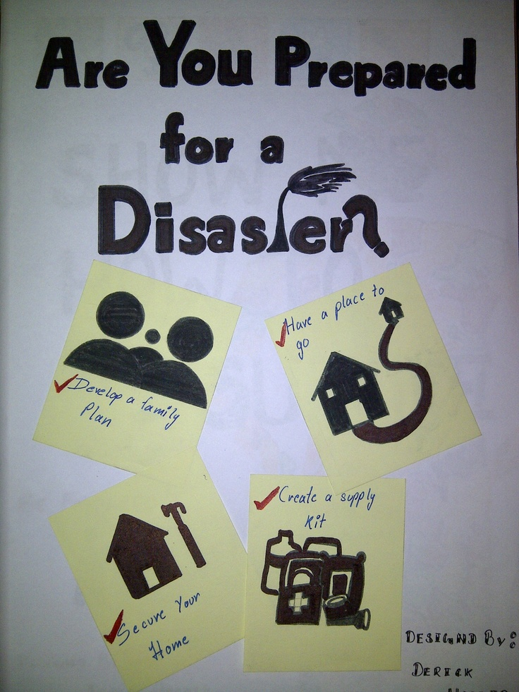 poster on disaster management | Hobbying | Pinterest